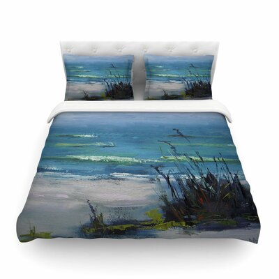 Sanibel Painting by Carol Schiff Featherweight Duvet Cover Size: Twin