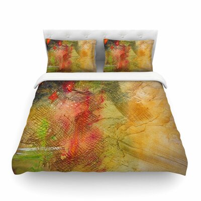 Poppyfield by Carol Schiff Featherweight Duvet Cover Size: Full/Queen