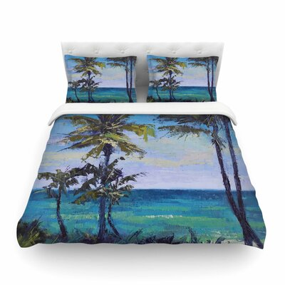 Room with a View by Carol Schiff Featherweight Duvet Cover Size: King