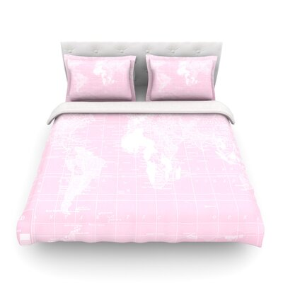 Her World by Catherine Holcombe Featherweight Duvet Cover Size: Full/Queen
