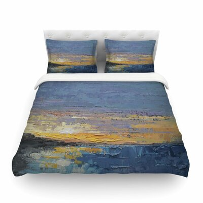 Caribbean Sunset Featherweight Duvet Cover Size: King