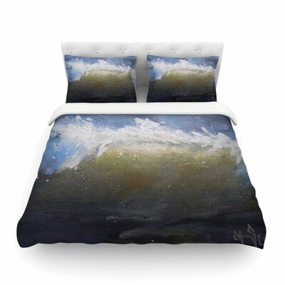 The Curl Nautical Painting by Carol Schiff Featherweight Duvet Cover Size: King