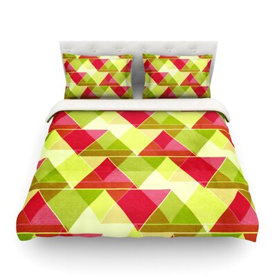 Palm Beach by Catherine McDonald Featherweight Duvet Cover Size: Twin