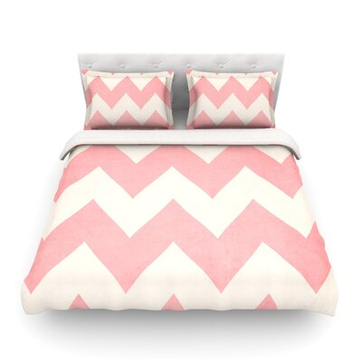 Sweet Kisses by Catherine McDonald Featherweight Duvet Cover Size: King