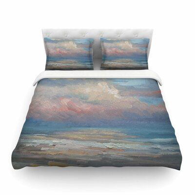 Clouds by Carol Schiff Featherweight Duvet Cover Size: Twin