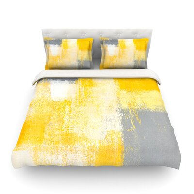 Breakfast by CarolLynn Tice Featherweight Duvet Cover Size: King