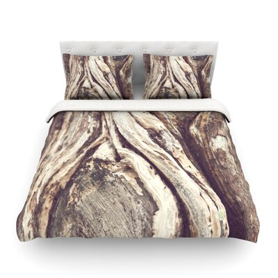 Bark by Catherine McDonald Featherweight Duvet Cover Size: Full/Queen
