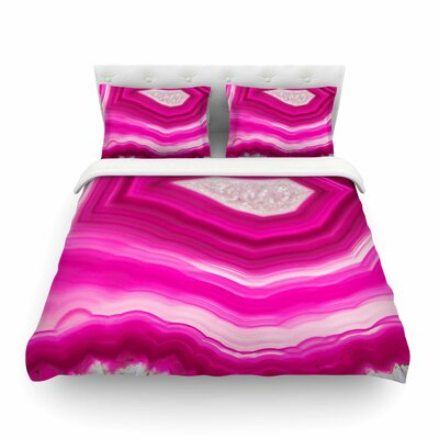 Bold Agate Featherweight Duvet Cover Size: Twin