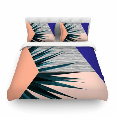 Summer Geometry Featherweight Duvet Cover Size: King