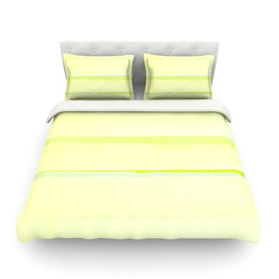 Lemons Featherweight Duvet Cover Size: Full/Queen