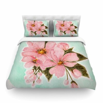 Fumiko by Christen Treat Featherweight Duvet Cover Size: Twin