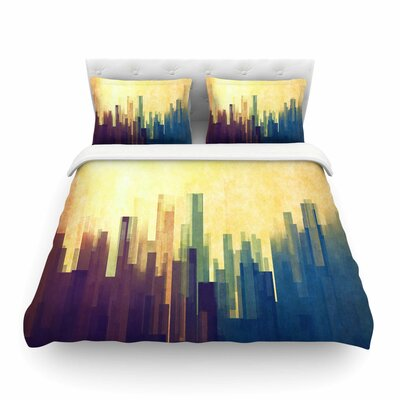 Cloud City by CvetelinaTodorova Featherweight Duvet Cover Size: Full/Queen