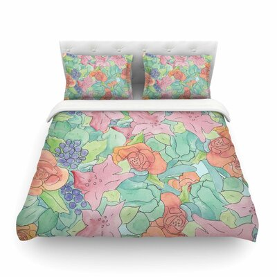 Southwestern Floral Featherweight Duvet Cover Size: Twin