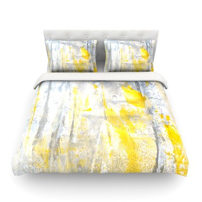 Abstraction by CarolLynn Tice Featherweight Duvet Cover Size: King