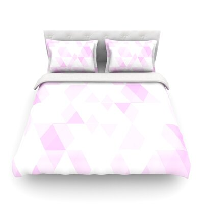 Aspire by CarolLynn Tice Featherweight Duvet Cover Size: King