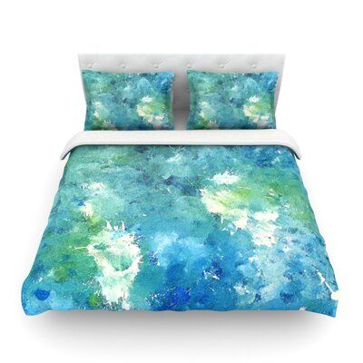Sporatically by CarolLynn Tice Featherweight Duvet Cover Size: King