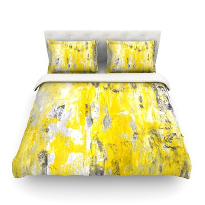 Picking Around by CarolLynn Tice Featherweight Duvet Cover Size: King