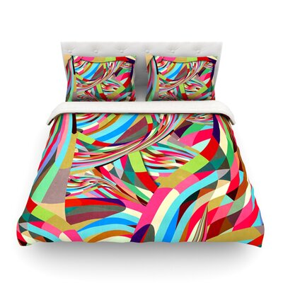 Fun by Danny Ivan Featherweight Duvet Cover Size: Full/Queen