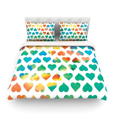 Be Mine by Budi Kwan Featherweight Duvet Cover Size: King