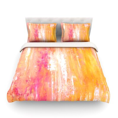 Girls Night Out by CarolLynn Tice Featherweight Duvet Cover Size: Twin