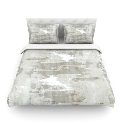 Effortless Neutral Featherweight Duvet Cover Size: Full/Queen