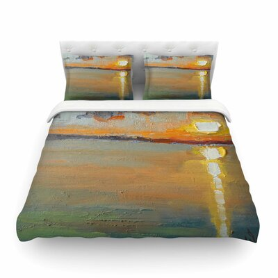 Reflections by Carol Schiff Featherweight Duvet Cover Size: King
