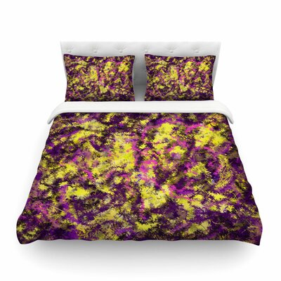 Cinderella Abstract Featherweight Duvet Cover Size: Twin