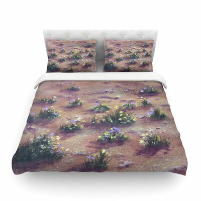 Desert Weeds by Cyndi Steen Featherweight Duvet Cover Size: Full/Queen