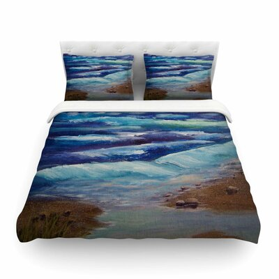 Beach Dreams by Cyndi Steen Featherweight Duvet Cover Size: King