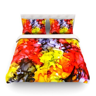 Southern Comfort by Claire Day Featherweight Duvet Cover Size: Full/Queen