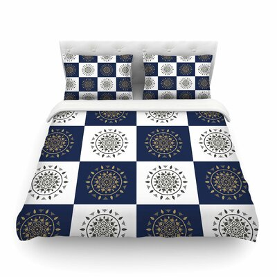 Mandalas Pattern by Cristina Bianco Featherweight Duvet Cover Size: Full/Queen