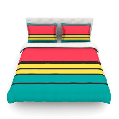 Simple by Danny Ivan Featherweight Duvet Cover Size: Twin
