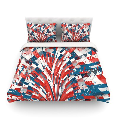 Feel Again Danny Ivan Featherweight Duvet Cover Size: King