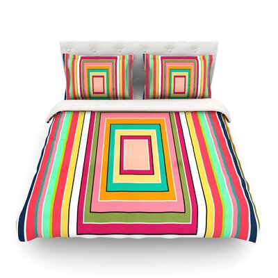 Floor Pattern by Danny Ivan Featherweight Duvet Cover Size: King