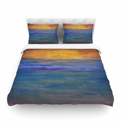 Sky on Fire by Cyndi Steen Featherweight Duvet Cover Size: Full/Queen