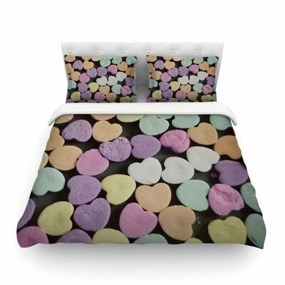 Candy Love Photography by Cristina Mitchell Featherweight Duvet Cover Size: Twin