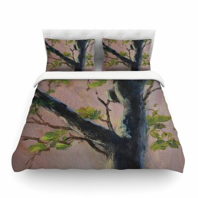 Aussie Tree Nature by  Cyndi Steen Featherweight Duvet Cover Size: Full/Queen
