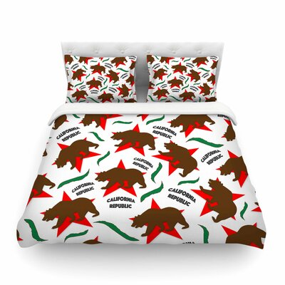 California Pattern by Danny Ivan Featherweight Duvet Cover Size: Twin
