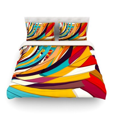 Demy World by Danny Ivan Featherweight Duvet Cover Size: Full/Queen