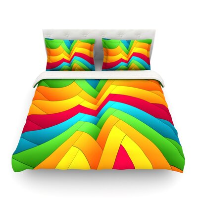 Olympia by Danny Ivan Featherweight Duvet Cover Size: Twin