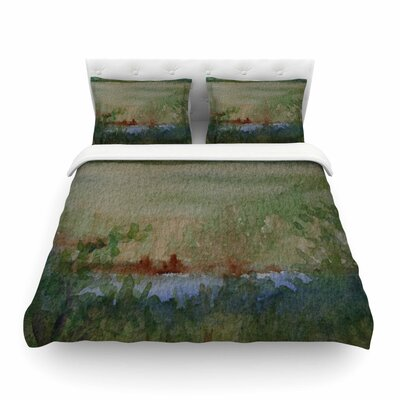 Land That I Love by Cyndi Steen Featherweight Duvet Cover Size: King