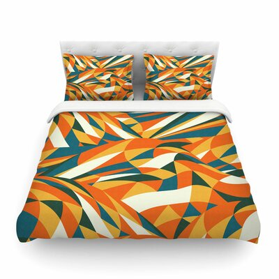 Astro Naive by Danny Ivan Featherweight Duvet Cover Size: King