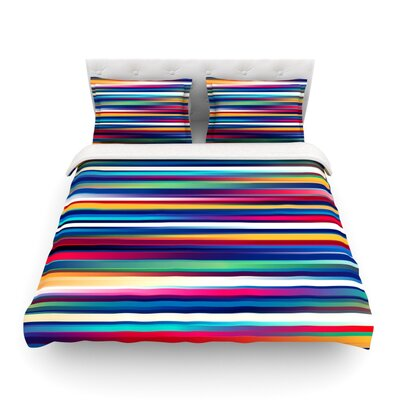 Blurry Lines by Danny Ivan Featherweight Duvet Cover Size: King