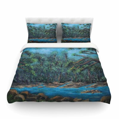 Dont Cut Me Down Nature by Cyndi Steen Featherweight Duvet Cover Size: Twin