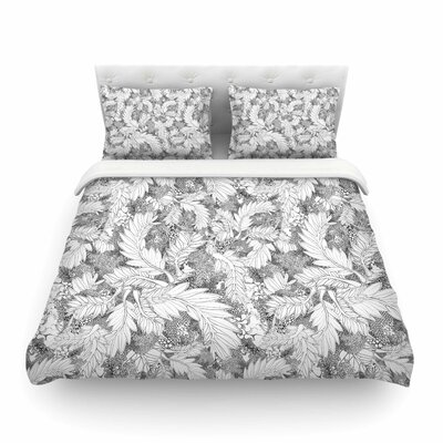 Jungle Paisley by Danii Pollehn Featherweight Duvet Cover Size: Twin