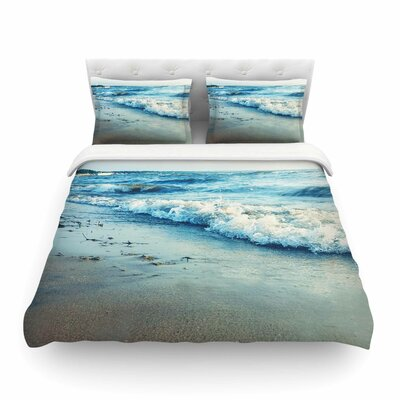 Beyond The Sea by Chelsea Victoria Featherweight Duvet Cover Size: Twin