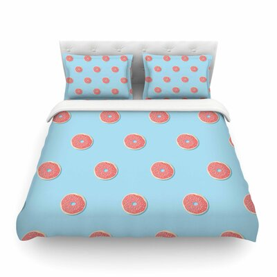 Donut Dreams by Busy Bree Featherweight Duvet Cover Size: Twin