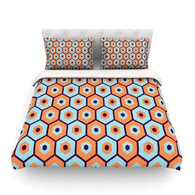 Busy by Budi Kwan Featherweight Duvet Cover Size: Full/Queen