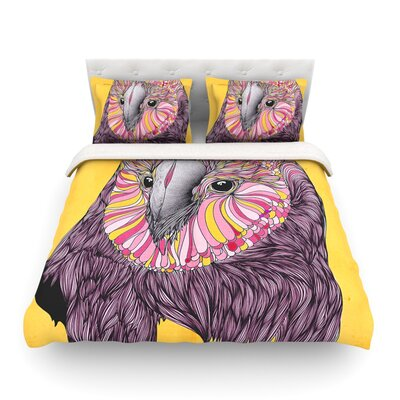 Lovely Owl by Danny Ivan Featherweight Duvet Cover Size: Twin