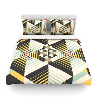 La Plus by Danny Ivan Featherweight Duvet Cover Size: King